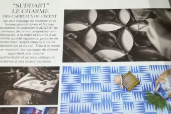 """""""Suddart"""" Le charme des carreaux de ciment"""